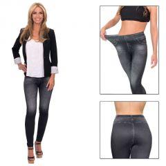 Slim N Lift Caresse Black Jeans Leggins Jeggins Tummy Shape Trimmer Western