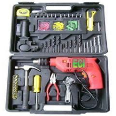 Shop or Gift Huge 100 Pcs Impact Drill Toolkit, Drilling Machine, Power Tools Kit Set Online.