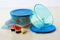 Tupperware Clear Bowl Set Of 2 Medium 610 Ml