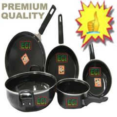 Shop or Gift Toro 5 PCs Hard Coat Induction Cookware Online.