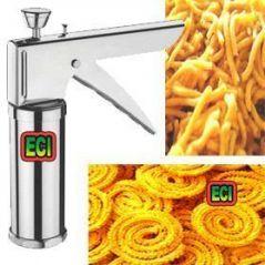 Eci Kitchen Press Sev Making Machine Besan Namkeen Fried Snack Farsan Maker