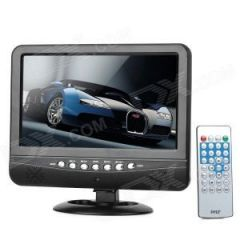 "Shop or Gift ECI 7.5"" Mini TFT LCD Screen Portable Color TV Car Shop USB SD Mp3 Mp4 play Online."
