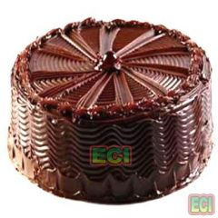 Birthday Gifts For Her - Delhi Delivery 1kg Eggless Chocolate Cake Birthday Gift Egg Less