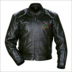 Shop or Gift ECI - Premium Cimmaron Leather Bikers Jacket - Black Online.