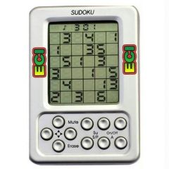 Electronic LCD Sudoku Puzzle Handheld Video Game