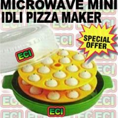 Shop or Gift Microwave Idli Maker for 30 Mini Snack Size Idlis Online.