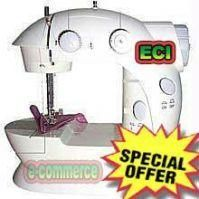 Shop or Gift Electric Sewing Machine 4in1 with Foot Pedal Online.