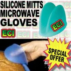 Microwave Oven Silicone Gloves Mitts