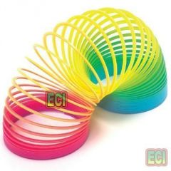 2pc Rainbow Spring Magic Coil Game Decorate & Play