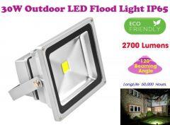 Gadget Hero's 30w LED Outdoor Flood Light White Focus Waterproof