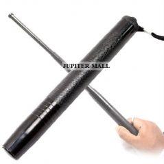 Security Self Defense System Telescopic Iron Baton Folding Stick -01