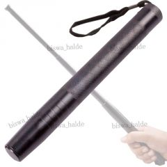 Jumbo Security Self Defense System Telescopic Iron Baton Folding Stick - 02