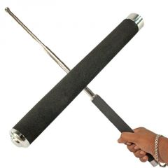 Jumbo Security Self Defense System Telescopic Iron Baton Folding Stick - 05
