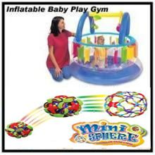 Inflatable Baby Play GYM & Colour Changing Ball