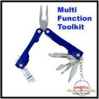 Multifucntion Tool Kit With LED Light & Key Chain