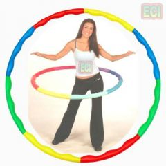 Gym Hula hoop aerobics floor exercise hoopla ring
