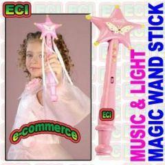 Fairy Magic Stick Wand Music & Light Toy