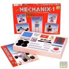 128pcs Metal Mechanix 1 Engineering Toy Set Age7