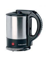 Morphy Richards 1.5 Ltr - Tea Maker Silver Black