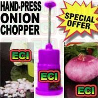 Hand Press Onion Chopper Mincer
