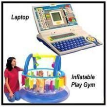 Educational Learning Laptop And Baby Play Gym