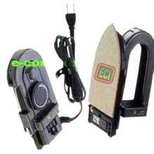 Eci - Foldable Travel Iron Dry Press Box Temperature Control Knob, Nonstick