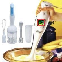 3in1 Hand Blender With Chopper Attachment
