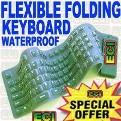 Flexible Folding Keyboard For Laptop & Desktop