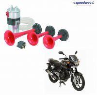 Car Lamps, Horns - Speedwav 3 Pipe Bike Air Pressure Horn-bajaj Pulsar 150 Dts-i