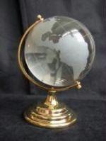 Crystal World Glass Globe Fengshui - Prosperity -