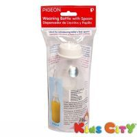 Pigeon Weaning Bottle With Spoon - 240ml (8oz)
