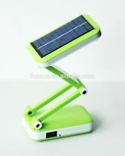 36 Smd LED Rechargeable Foldable Table Lamp With Solar Panel
