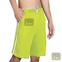 Gents Yellow Shorts Jogging Nicker, Men Hosiery Cotton Bermuda Half Pant