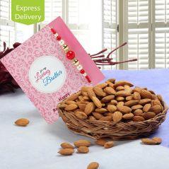Almonds Rakhi Treat