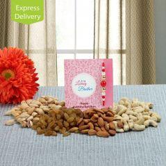 Healthy dry fruits hamper-Rakhi