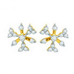 Ag Real Diamond Payal Earring AGSE0120A