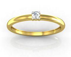 Ag Real Diamond Sonakshi Ring  AGSR0001Y