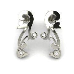 Gold Earrings - Avsar Real Gold  Rashi Earring AVE005WE