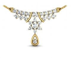 Avsar Real Gold and Diamond Kanika Mangalsutra  AVM001