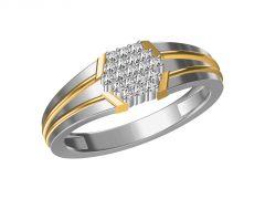 Kiara  Sterling Silver Usha Ring  KGR314WT