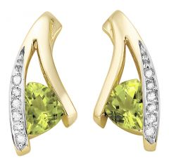 Kiara Swarovski Elements White Gold Plated Earring  KIE0252