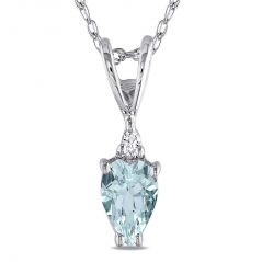 Kiara Sterling Silver Pendant made with Cubic Zirconia Stone( Code - KIP0227 )