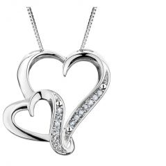 Kiara Sterling Silver Pendant made with Cubic Zirconia Stone( Code - KIP0279 )
