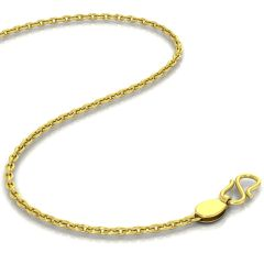 Avsar 18k Gold 24 Inch Cable Chain