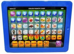 Kid's Fun Learning Touch Screen Tablet Toy-blue