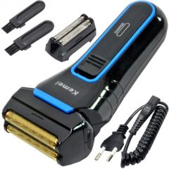 Cordless Electric Rechargeable Mens Shaver With Trimmer - 41