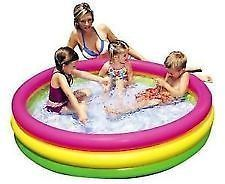 Intex Inflable Kids Bath Pool Water Tub - 3 Feet