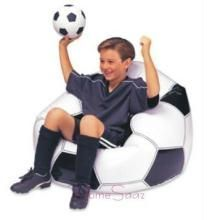 New Attractive Football Shape Beanless Bag