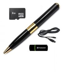 Spy Pen Camera With Built In 8GB Memory And Card Reader Bpr6