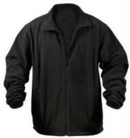Men's Wear - Winter Breaker Polar Fleece Black Jacket